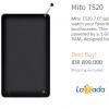 Mito T520 ,Tablet TV Murah Layar 7 inci Harga di Bawah 1 Juta