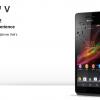 Sony Xperia V LT25i,Smartfhone Sony Kamera 13 MP RAM 1 GB Prosesor Dual Core