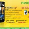 Android 5 inci 1 Jutaan Quad Core Nexian Fox 500 Mi540