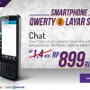 Cyrus Chat , Android Qwerty Terbaru Kamera 5MP Murah