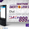 Cyrus Chat , Android Qwerty Terbaru Kamera 5MP Murah