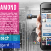 MAXTRON Diamond , Android Kamera 12 MP Harga 1,5 Jutaan RAM 1GB
