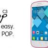 Discount Ponsel 2015: ALCATEL Pop C3 di Jual Rp 499,000