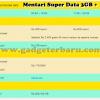 Cara Cek Kuota dan Daftar Tarif Mentari Super Data 3GB +