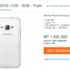 Samsung Galaxy J1 2016 Harga dan Spesifikasi