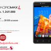 Smartfren Andromax L ,Hp Android 5inc RAM 2GB Snapdragon 212 Harga 1 Jutaan