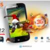 Evercoss A22,Android 3G Layar Lebar Harga 1 Jutaan Kamera Depan Dan Belakang