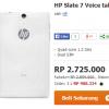 2 Tablet Terbaru Harga 2 Jutaan HP Slate 6 VoiceTab dan HP Slate 7 VoiceTab