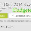 2 Aplikasi Android Pilihan Sambut World Cup 2014