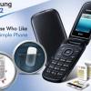 HP Flip/Lipat Samsung Harga 300 Ribuan :Samsung E1272 Caramel