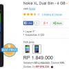 Harga dan Spesifikasi Nokia XL Juli 2014
