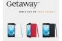 Wiko Getaway,Ponsel Android 5 inci 2 Jutaan Kamera 13 MP plus 5 MP