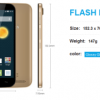 Alcatel Flash Plus ,Ponsel Android 5,5 inci 2 Jutaan 4G Lte