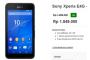 Harga Terbaru Sony Xperia E4G Rp 1.899.000