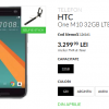 HTC One 10 ,Smartphone Android Ram 4 GB 4 G Lte Layar 5,15 inci
