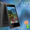Mito A80 Fantasy Lite,HP Android Lollipop RAM 1 GB Harga 600 Ribuan