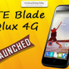 ZTE Blade Q Lux,Ponsel Android Murah 4,5 inch 4G RAM 1 GB