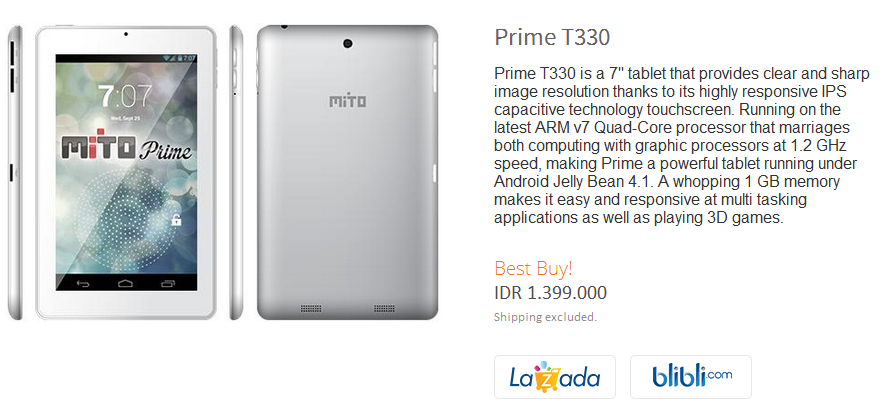 Mito Prime T330