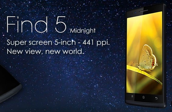 Oppo Find 5 Midnight