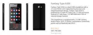 harga Mito Fantasy  A350