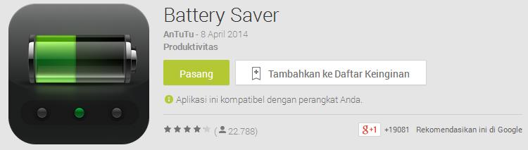 Du Baterry Saver