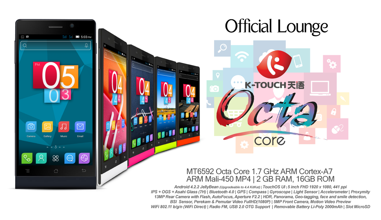 K-Touch Octa Core 2