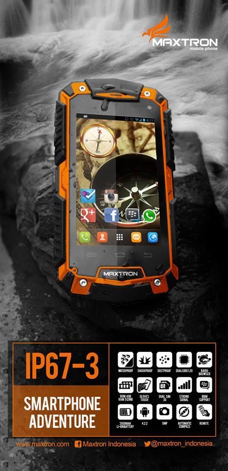 Maxtron IP67-3 kridit gambar facebook maxtron indonesia