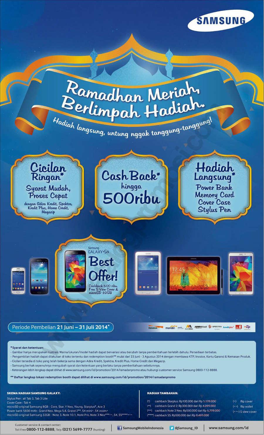 samsung promo ramadhan 2014