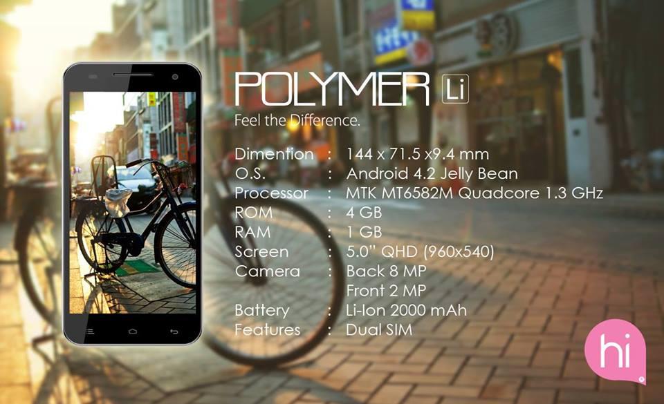 Himax Polymer kredit gambar kaskus