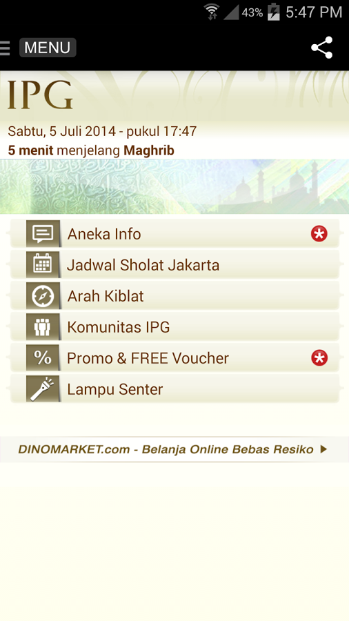 Islamic Pocket Guide Kredit gambar play google com