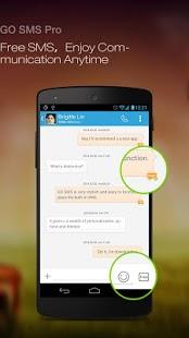 Go SMS Pro Kredit gambar play.google.com