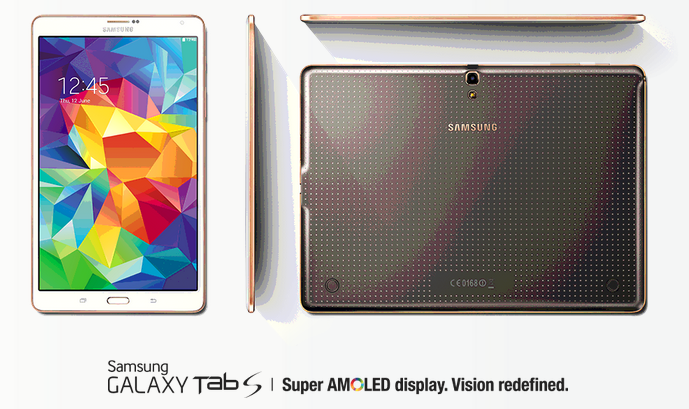 Samsung Galaxy Tab S kredit gambar samsung.com