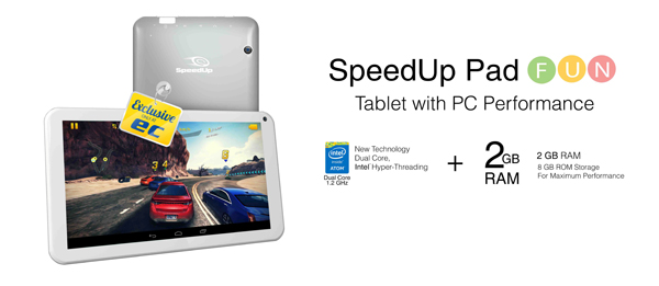 SpeedUp Pad Fun Kredit gambar speedup.co.id
