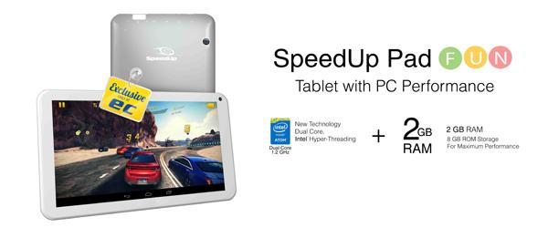 SpeedUp Pad Fun Kredit gambar speedup.co.id