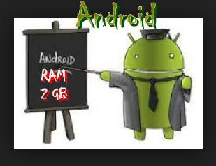 android ram 2 gb daftar