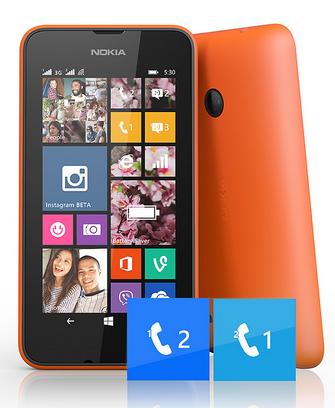 Nokia Lumia 530 Cridit imege nokia.com/id