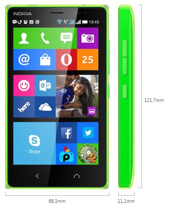 Nokia X2 Dual Sim Cridit imege nokia.com