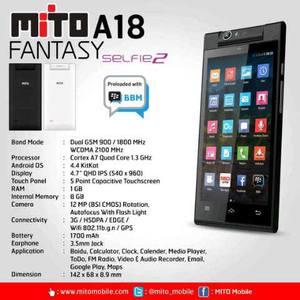 Mito Fantasy Selfie 2 A18 cridit imege bukalapak.com