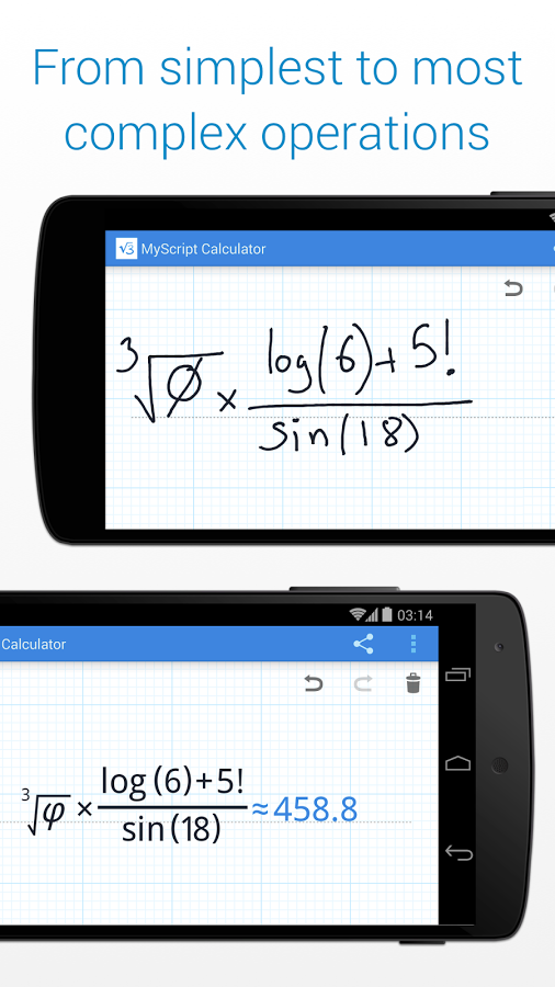MyScript Calculator cridit imege play.google.com