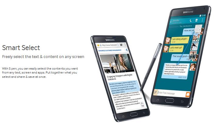 Samsung Galaxy Note 4 cridit imege samsung.com