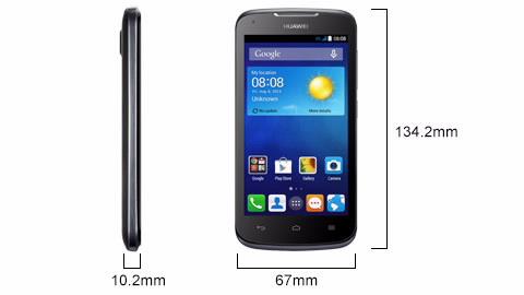 Huawei Ascend Y520 cridit imege huawei.com