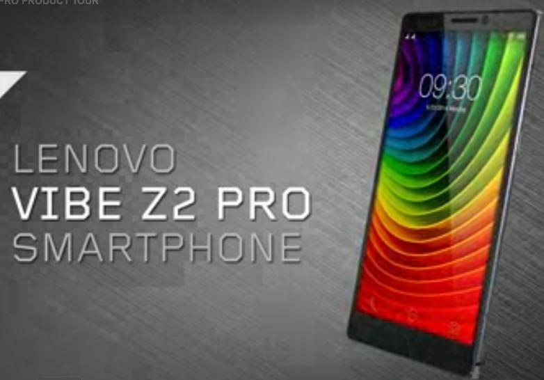 Lenovo Vibe Z2 Pro cridit imege shopap.lenovo.com