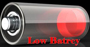 low batrey