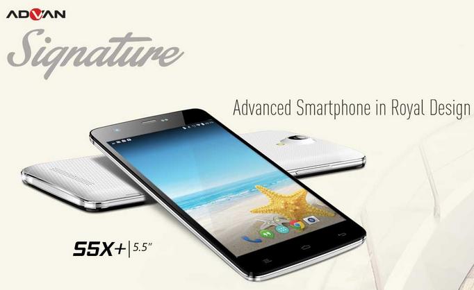 ADVAN Smartphone S5X+