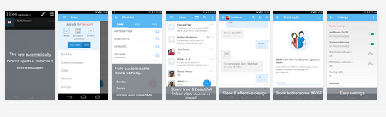 SMS Blocker Clean Inbox