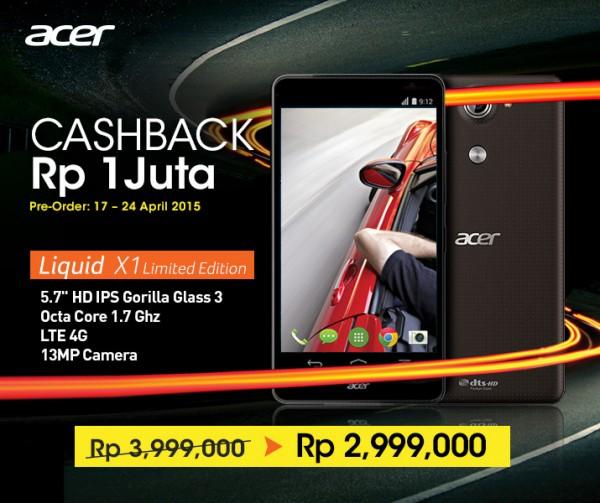 Acer Liquid X1 bhineka