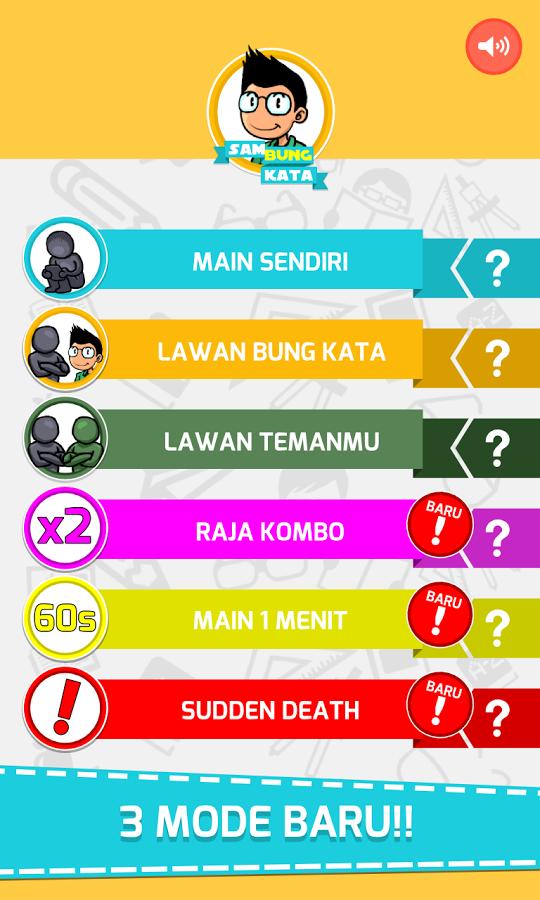 screenshot game sambung kata