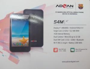 Advan Vandroid S4M