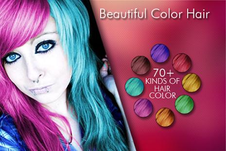 cara merubah warna rambut dan mata