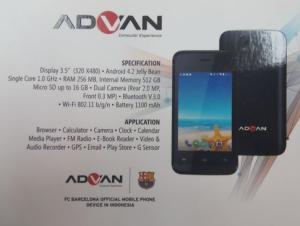 Advan S3 Lite